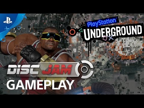 Disc Jam Gameplay Battle: Free on Plus This Month | PlayStation Underground