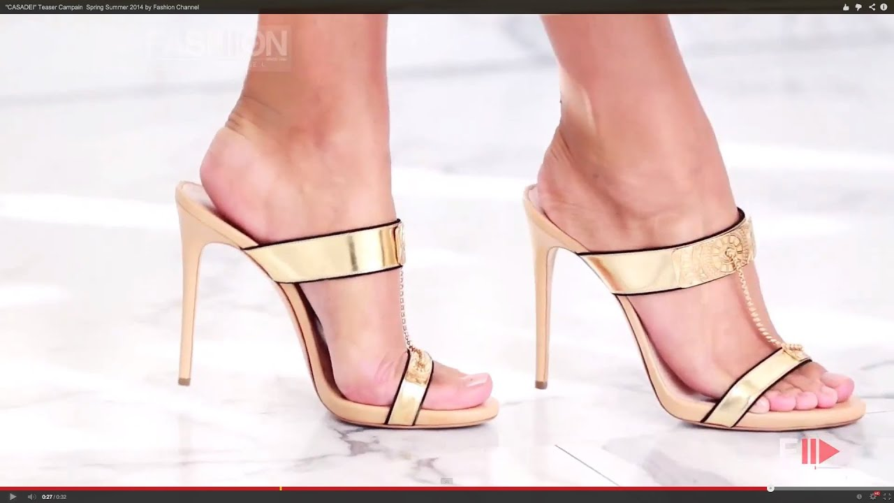 CASADEI Teaser Campain  Spring Summer 2014 by Fashion Channel