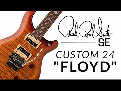 PRS Guitars 2018 SE Custom 24 Floyd Fire Red