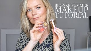 Bronze Summer Makeup Tutorial