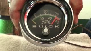 Testing Buick 1965-69 Gran Sport Tachometer