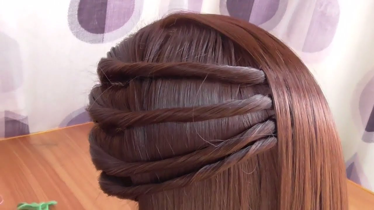 Simple Side Twist Hairstyle Hairstyle In 2 Minutes Youtube