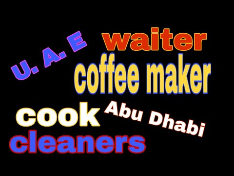 #JOBOFTHEDEY #newjobs waiter cook cleaner coffee maker ! only ecnr