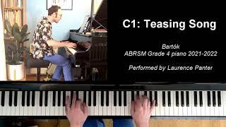 C:1 Teasing Song (ABRSM Grade 4 piano 2021-2022)