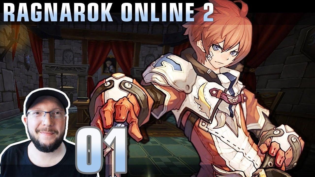 Ragnarok Online 2 - Gameplay #01 - O início / Classes e Jobs [PC] [PT-BR]
