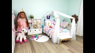 American Girl Doll Unicorn Bedroom