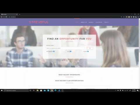 Official Striveful Website Tutorial