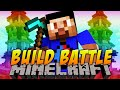 Minecraft BUILD BATTLE #1 with Vikkstar, Woofless & Preston (Minecraft Building Challenge Mini Game)