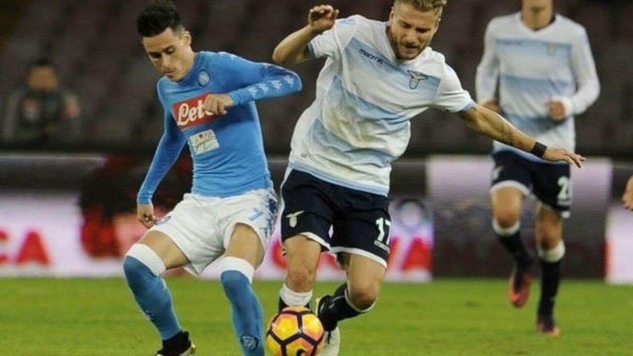 Napoli vs Lazio 3 1 Highlights & Goals