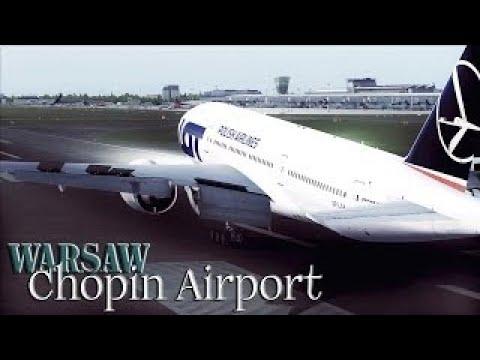  FSX  LOT 777-200 to Chopin, Warsaw
