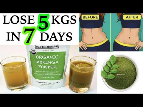 Lose 5Kg In A Week  | Moringa Weight Loss Tea/Drink To Lose