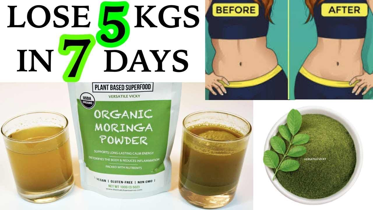 how many moringa seeds for weight loss