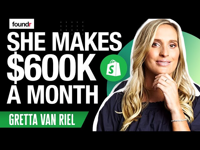 From $0 to $600K per month Selling Tea at 22 Years Old | Gretta Van Riel PART 1