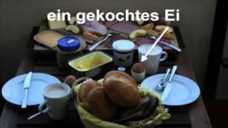 Die drei Hauptmahlzeiten in Deutschland
