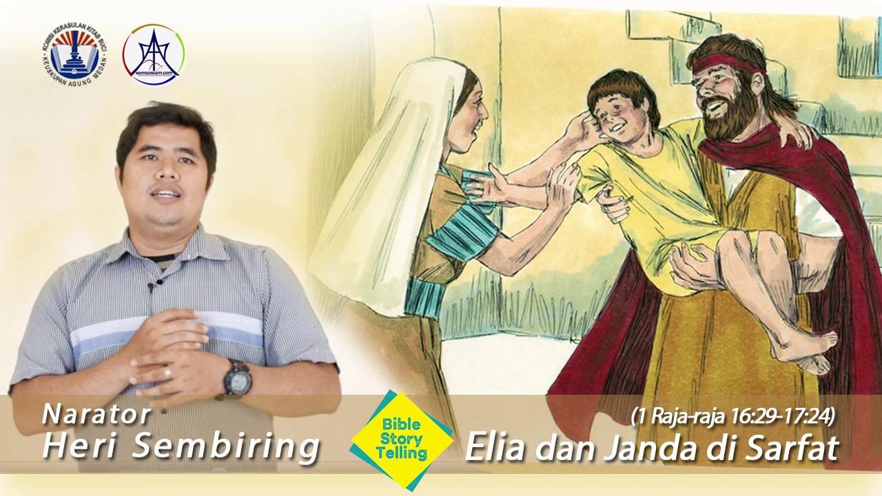 Storytelling Kisah Elia Dan Janda Sarfat Komsoskam