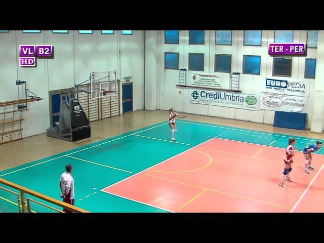 Ternana vs Perugia - 1° Set