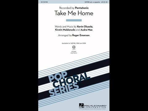 Take Me Home (SATB) - Arranged by Roger Emerson