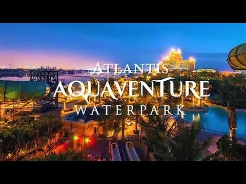[4K] Walk Around Atlantis Aquaventure Waterpark – April 2019 Atlantis The Palm – Dubai – UAE