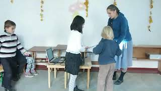 Открытый урок в первом классе альтернативной школы, г Канев