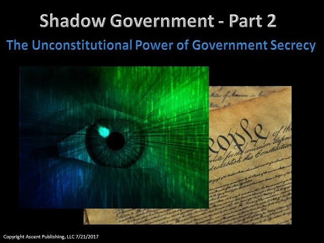 Shadow Goverrnment Short Part 2