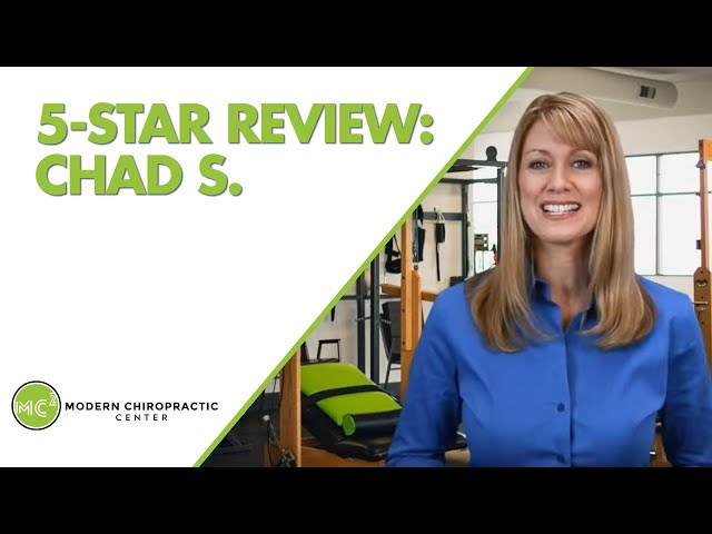 Modern Chiropractic Center Boise Terrific 5 Star Review by Chad S.