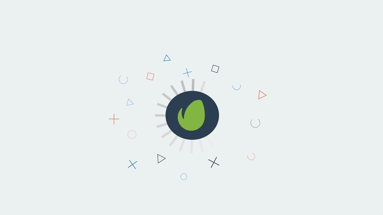 Free After Effects Template Flat Logo Animation