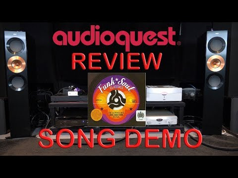 Audioquest Niagara 7000 Review + YBA Passion Song Demo Mary Jane Girls HiFi Power Cable