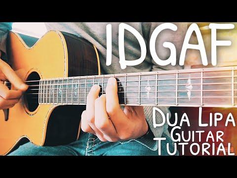 IDGAF Dua Lipa Guitar Lesson For Beginners // IDGAF Guitar // Lesson #486