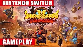 Swords & Soldiers 2 Shawarmageddon Nintendo Switch Gameplay