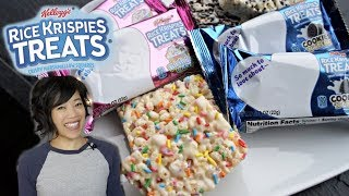 Rice Krispies Treats | Birthday Cake & Cookies
