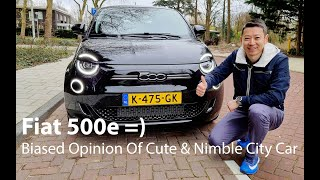 Fiat 500e - Biased opinion of a very cute & nimble city car!