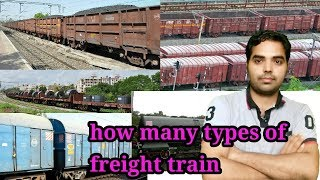 How many type of freight train in indian railway