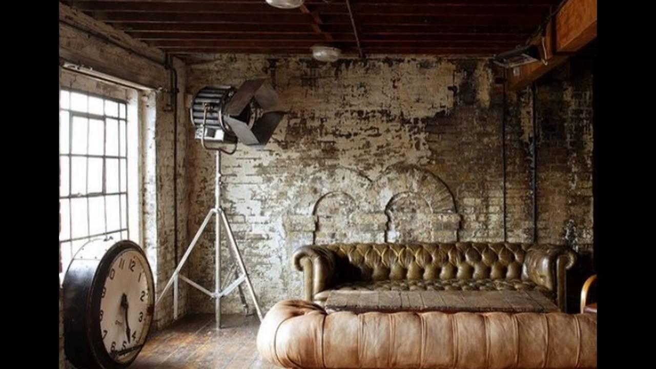 Industriële inspiratie: de industriële woonkamer - YouTube