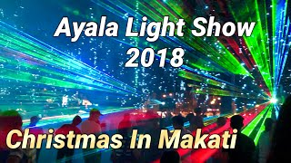 Ayala triangle Christmas Light Show 2018 Manila