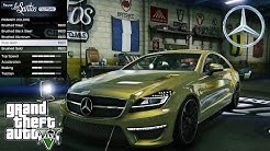 Mercedes Benz CLS 6 3 AMG GTA V car mod tuning !!
