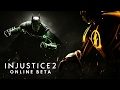 INJUSTICE 2 - BETA ONLINE NO PLAYSTATION 4 PRO!!!