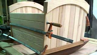 Heirloom Baby Cradle Made By Ronald Colson