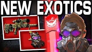 The Division 2 - ALL NEW EXOTICS FULL TALENTS u0026 MORE !!
