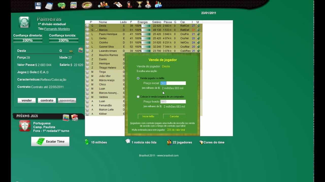 Resultado de imagem para brasfoot 2011