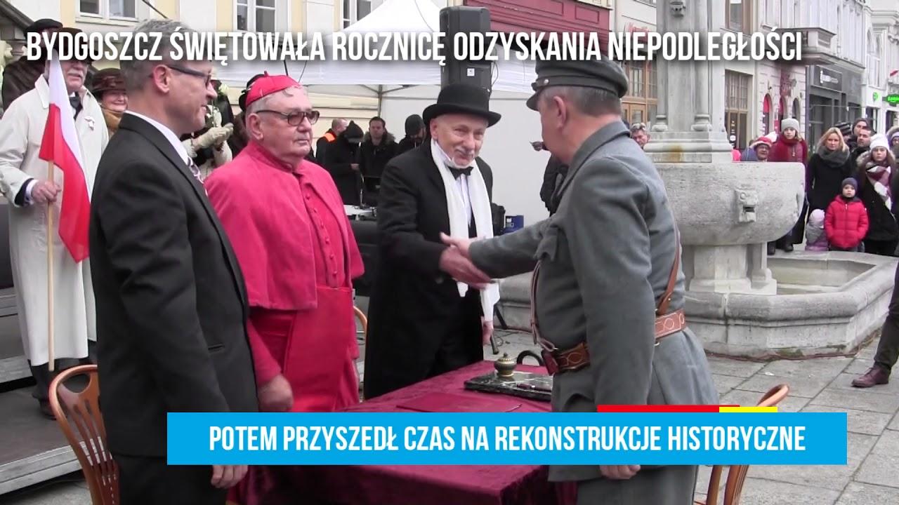 Bydgoszcz uczciła Święto Niepodległości