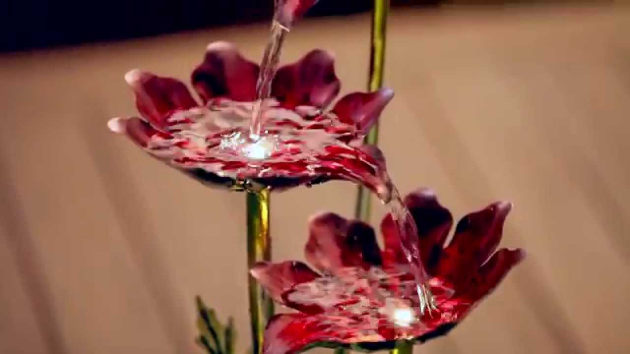 Cascading flowers tabletop fountain 47m323 from evergreen garden cascading flowers tabletop fountain 47m323 from evergreen garden izmirmasajfo