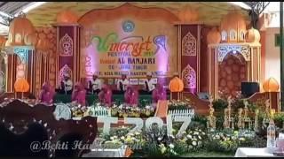 FESTIVAL SHOLAWAT AL BANJARI SE-JAWA TIMUR 2017 | SUARA MERDU GRUP BANJARI PONPES AL KAUTSAR PANDAAN
