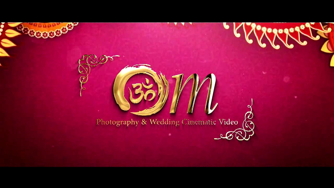 Romantic Wedding Invitation Video ❤The Magic Of Animation World ...
