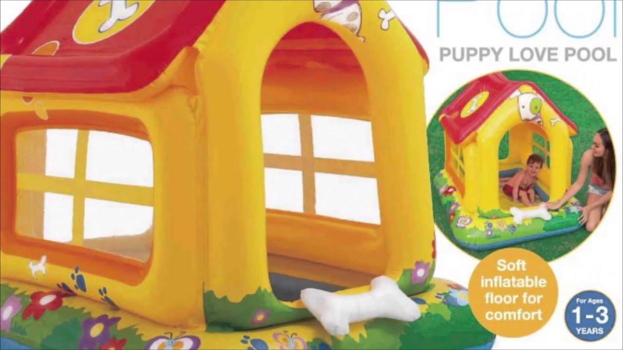 Презентация детских надувных батутов HAPPY HOP - YouTube