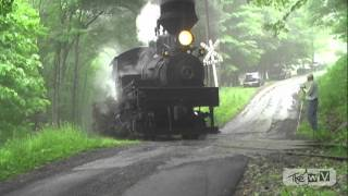 "The WV Presents ""CHASING CASS SCENIC RAILROAD"" Railfan Weekend 2011 from Alternate Locations"