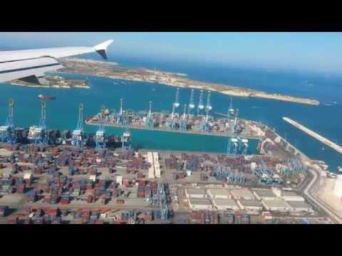Luqa Airport (Malta) landing