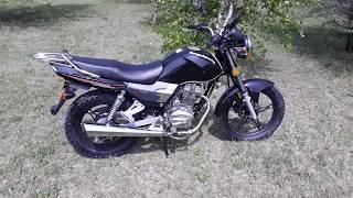 Лёгкий обзор  мотоцикла Senke SK150-6