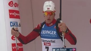 Биатлон Мужчины Спринт 10 км. 6 декабря 2013 г. Хохфильцен Австрия