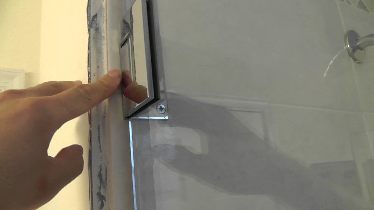 Custom Corner Shower Glass Door