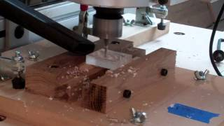 Milling hall effect home switch housing .. part 1 of 3